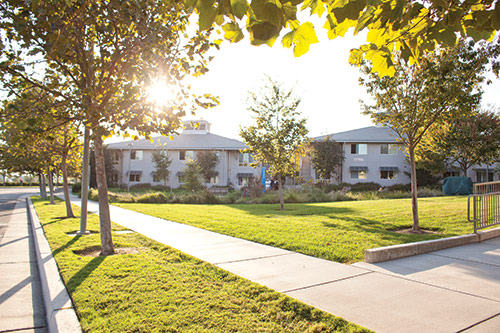 Image of dorms