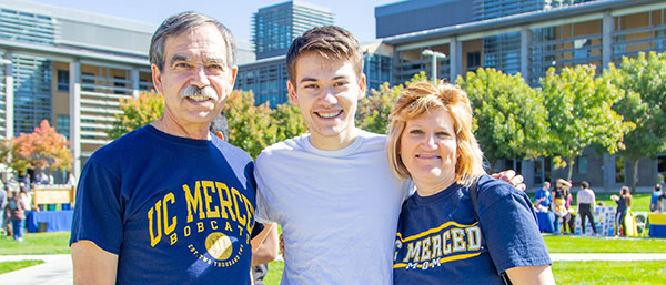 Parents and families at UC Merced