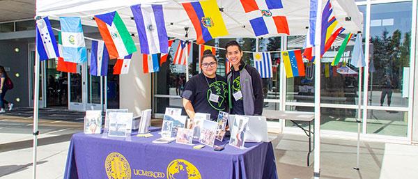 International students at UC Merced