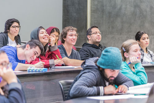 Students in Philosophy Class