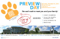 Preview Day flier