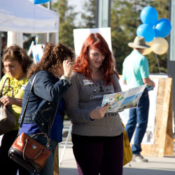 Family attends UC Merced tour