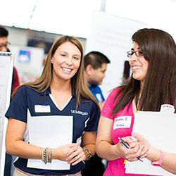 UC Merced at a college fair