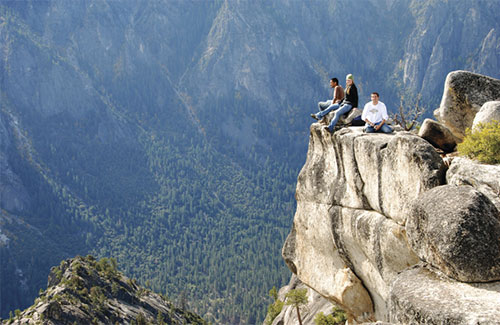 UC Merced Students at Yosemite National Park